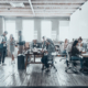 move management team asses space planning in office relocation
